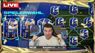 FIFA 21: 50+ TOTY PLAYER PICKS & meine WL REWARDS 🔥🔥 YouTube COMEBACK ❤️
