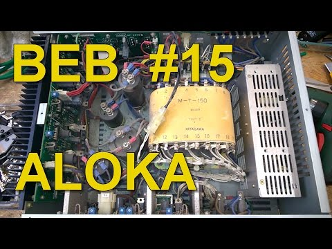 Teardown: PSU Of An ALOKA SSD-630 Ultrasound Echo Camera, BEB #15