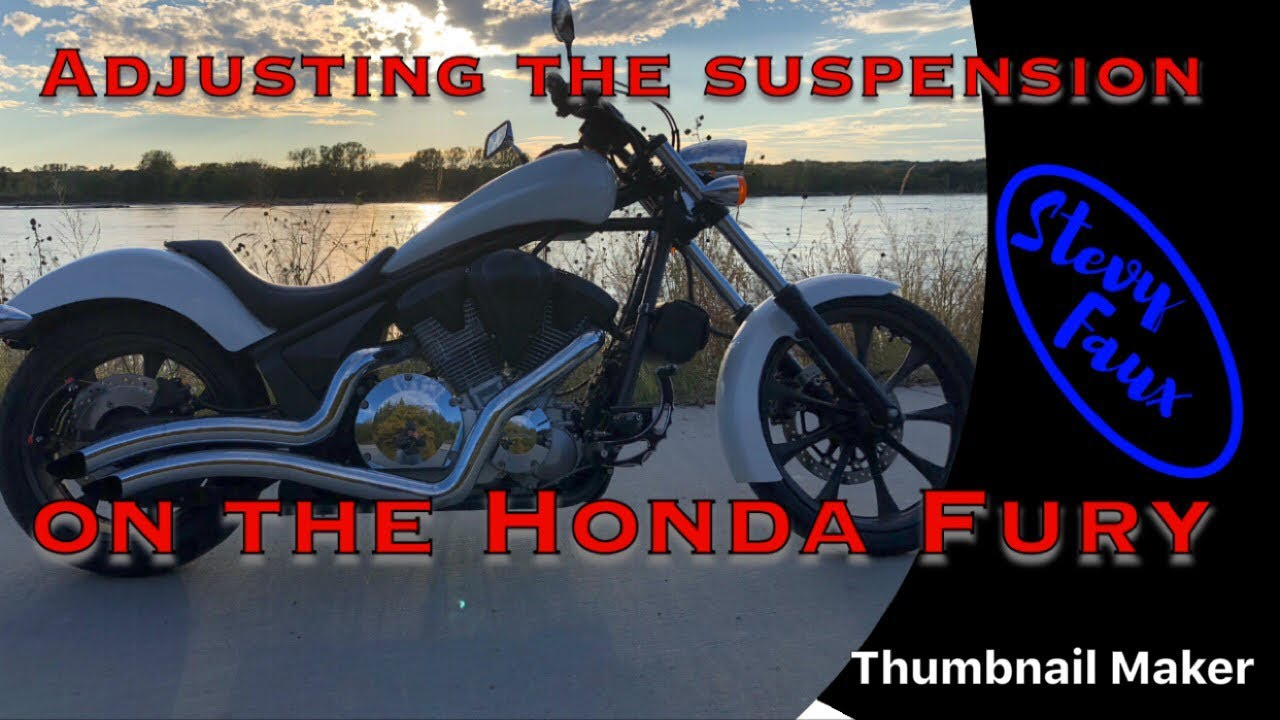 Honda Fury shock adjustment    Started out on the Road King