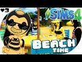 The Sims 4 Bendy And The Ink Machine SUMMER WITH BENDY BEACH TIME mp3