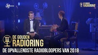 De opvallendste radiobloopers van 2018 besproken door Ron Vergouwen en Rob Janssen
