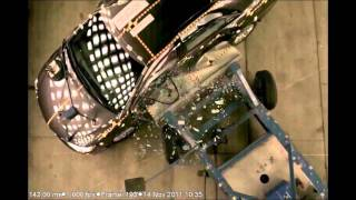 2012 Toyota Camry xv50 crash-test ncap side боковой удар