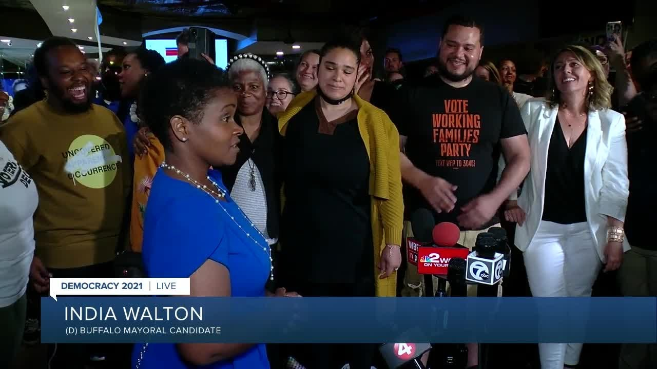 Socialist India Walton Will Be Buffalo's Next Mayor