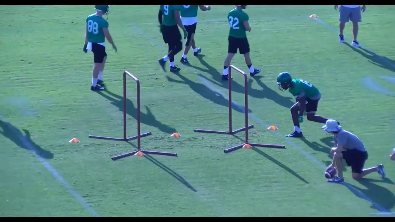 2019   University of North Texas   WR Drill Tape