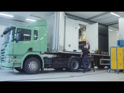 Emissions tests carried out in real-time by Scania