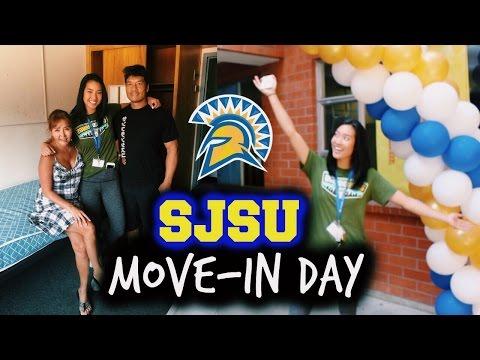 SJSU Move-In Day | Freshman Year
