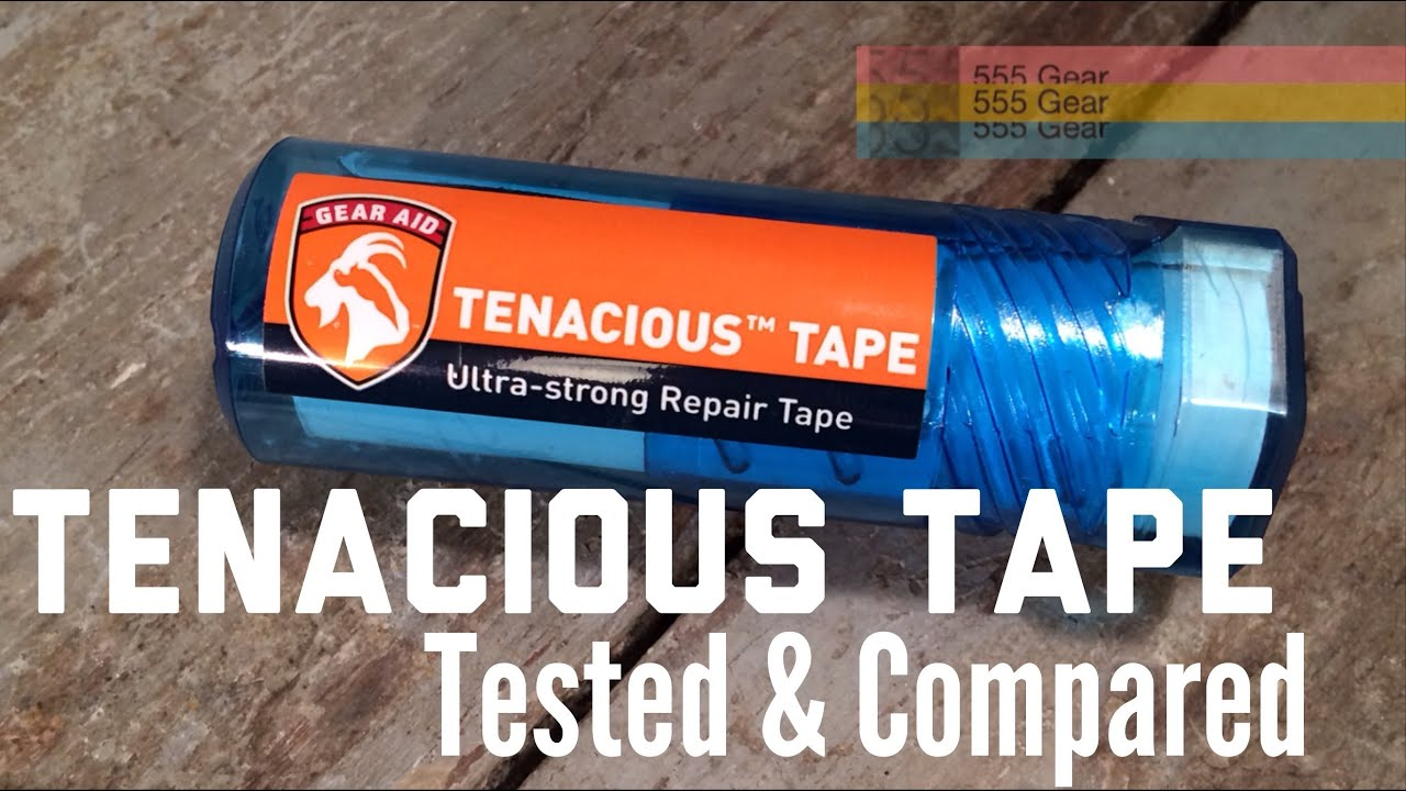 Review Tenacious Tape by Gear Aid  Is this Tent / Jacket Repair Tape Better Than Gorilla Tape?  - YouTube & Review: Tenacious Tape by Gear Aid