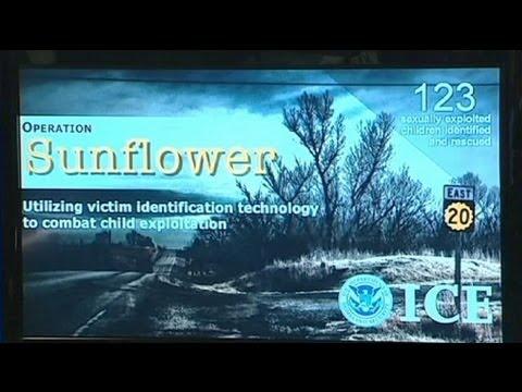 Hundreds of arrests in US pornography swoop