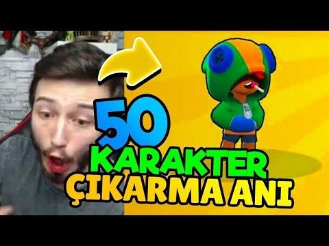 TÜM KARAKTER ÇIKARMA ANLARIMI İZLEDİM !!! - Brawl Stars