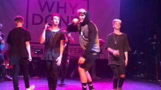 Logan Paul - Help Me Help You Live Performance Ft Why Don't We