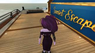 Avakin Life VIP's ONLY! Millionaire's Sunset Yacht Quick Speed Design
