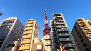 東麻布から日本経緯度原点→飯倉へ    Higashi-Azabu : Tokyo walk 2.7K