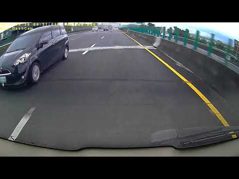 ATY 7155國道1號南向161.8K行駛高速公路未依規定變換車道未使用方向燈