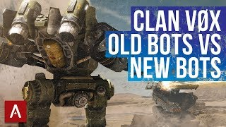 VØX Clan Vs Randoms Using Old School Bots / War Robots Live Stream Gameplay | WR