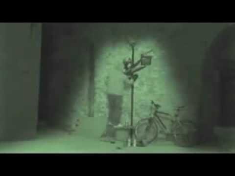 Banksy filmed live by The Sunday Times