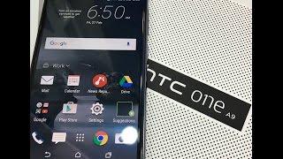 HTC ONE A9 first impressions [hindi 4K] HTC ONE A9 फ़र्स्ट इम्प्रेशनस ।