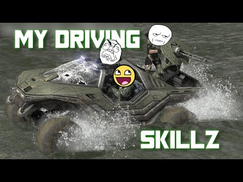 My awesome driving skills