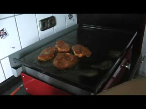 grillen mit dem plancha grill von verycook youtube. Black Bedroom Furniture Sets. Home Design Ideas