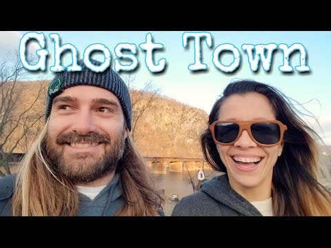 It's a Ghost Town | Exploring Downtown Harpers Ferry | 72. Road Warrior Life | RV Living
