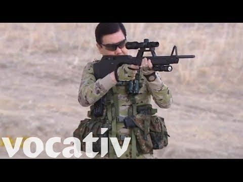 Here's A Combat Propaganda Video Starring Turkmenistan President Berdymukhammedov