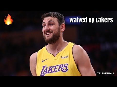 Lakers News: Andrew Bogut Waived   More Trades to Come for Los Angeles!?   2017-18 NBA Season