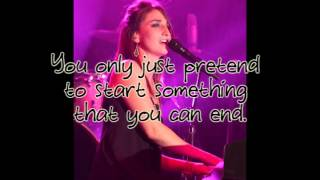 Too Good For You (So Sorry) - Sara Bareilles (with lyrics)