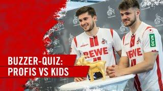 Wer gewinnt? Jan Thielmann und Elvis Rexhbecaj oder die Kids | Das große Quiz der DEVK