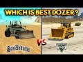 GTA 5 VS GTA SAN ANDREAS DOZER : WHICH IS BEST?