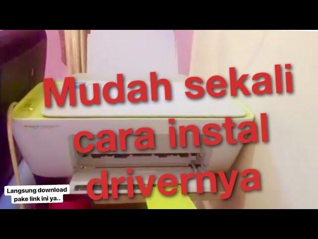 Cara Install Driver Hp Deskjet 2135 Lengkap Dgn Cara Downloadnya Youtube