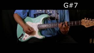 STEVIE WONDER - MY CHERIE AMOUR - Guitar Chords Lesson