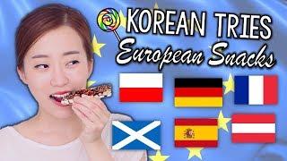 Baixar Korean Tries European Snacks