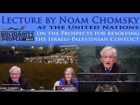 Lecture by Noam Chomsky at the United Nations