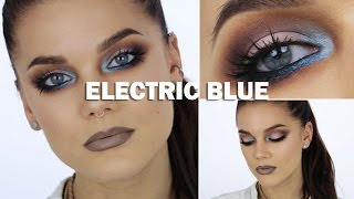 Electric Blue (with subs) - Linda Hallberg Makeup Tutorials Thumbnail