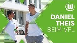 NBA-Star Daniel Theis erkundet mit Marcel Schäfer das VfL-Center | VfL Wolfsburg