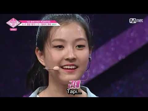 Indo Sub Produce 48 MNH Lee Ha Eun Dance + Sing