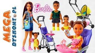Barbie ✨ Niania ✨ Opiekunka ✨ Rodzinka Barbie Skipper Babysisters Inc