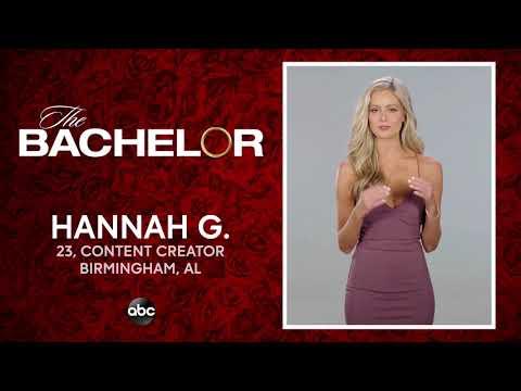 Meet Hannah G. - The Bachelor