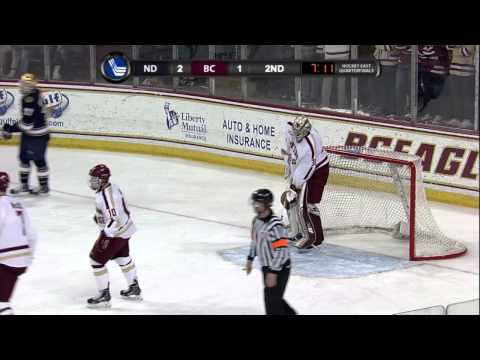 Notre Dame at Boston College - Hockey East Quarterfinals - 03/14/2014