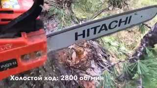 Бензопила Hitachi CS 40 EL видео обзор(Бензопила Hitachi CS 40 EL видео обзорчик Снято на Iphone 5S Обработка iMovie Apple http://www.hitachi.ru/products/index.html., 2014-08-20T17:05:50.000Z)