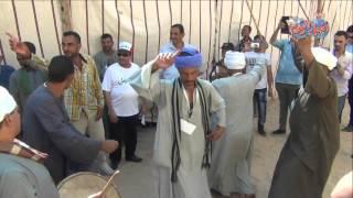 رقص بلدي وزغاريد بعد تجديد وافتتاح القرى الأكثر  فقرا