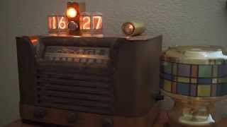 Philco 42-323 Nixie Clock Radio