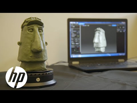Middlebury Animation Studio | HP 3D Scan Case Study | HP
