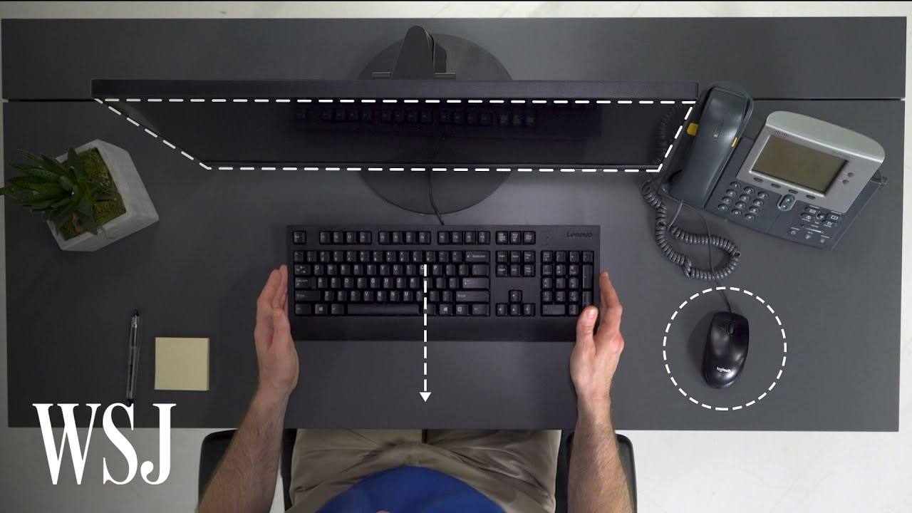Expert Explains How To Set Up Your Desk