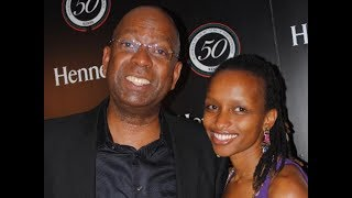 Bob Collymore and His Wife Spending Quality Time.He Truly Loves Her.