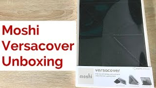 Gambar cover Moshi Versacover for iPad Pro 10 5 Unboxing