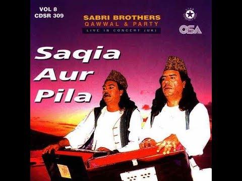 Sabri Brothers - Tashangi Ko Jhanjore Dete - Live In England