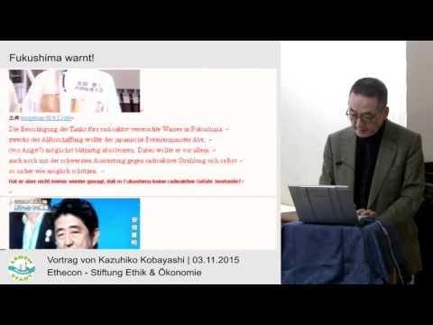 Fukushima mahnt! Vortrag von Kazuhiku Kobayashi