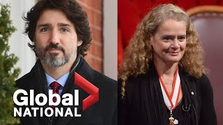Global National: Jan. 22, 2021 | Trudeau facing fallout over Governor General's resignation