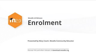 Moodle 2.9 Release Highlights: Enrolment