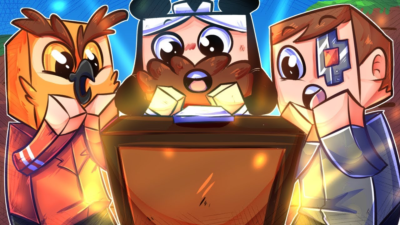 We Finally Found Treasure   and Then I Get Trolled - MINECRAFT
